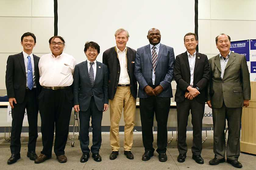アフリカと日本における協力に向けて:TICAD7においてブルーエコノミーとブルーカーボンに関するサイドイベントを実施