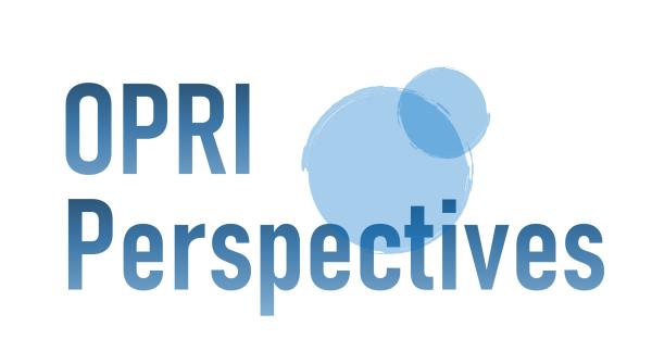 海の論考「OPRI Perspectives」第4号発行