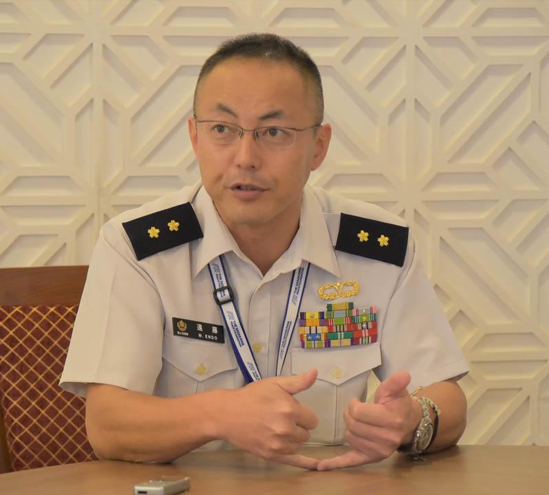 ブレがないベトナム<br>第11回日越佐官級交流 団長・遠藤充陸将補
