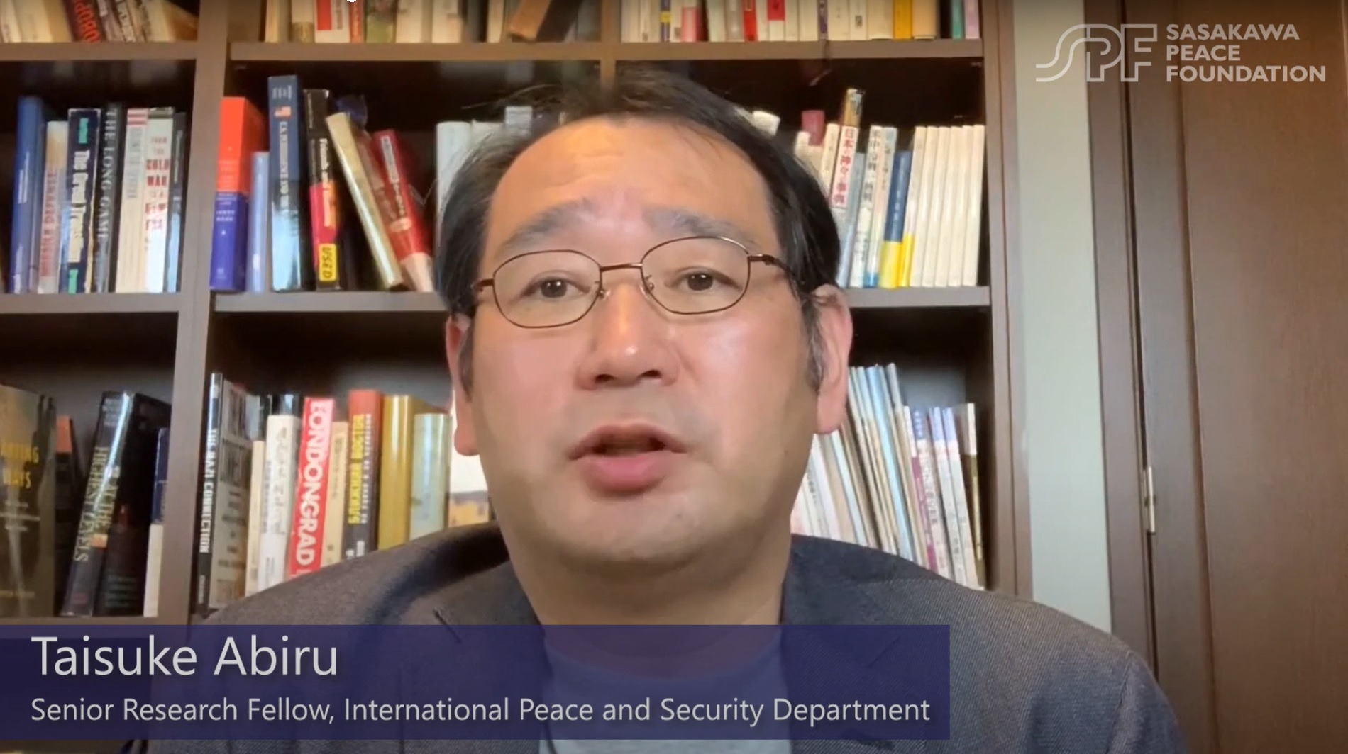 Russian Foreign Policy and COVID-19: Interview with SPF Senior Research Fellow Taisuke Abiru