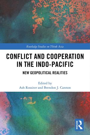 書籍『Competition and Conflict in the Indo-Pacific: New Geopolitical Realities』に共著文が掲載されました