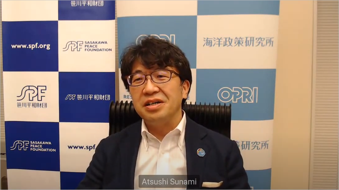 「アジア太平洋における海洋を基盤とする力強い経済再生を目指して」<br> エコノミスト・グループ、日本財団とウェビナー共催 <br>「ブルーリカバリーシリーズ」第1弾