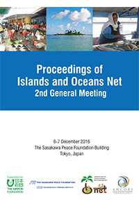 Proceedings of Islands and Oceans Net 2nd General Meeting. 6-7 December 2016