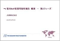 笹川BOP実現可能性報告 概要-第2フェーズ 日研株式会社