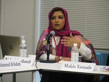 ナーヒド・バーシャタフ氏(ジャーナリスト)研究会「サウジアラビアの女性――現状、課題、海外メディアにおける表象」