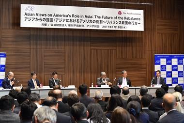アジアからの提言:アジアにおけるアメリカの役割~リバランス政策の行方~