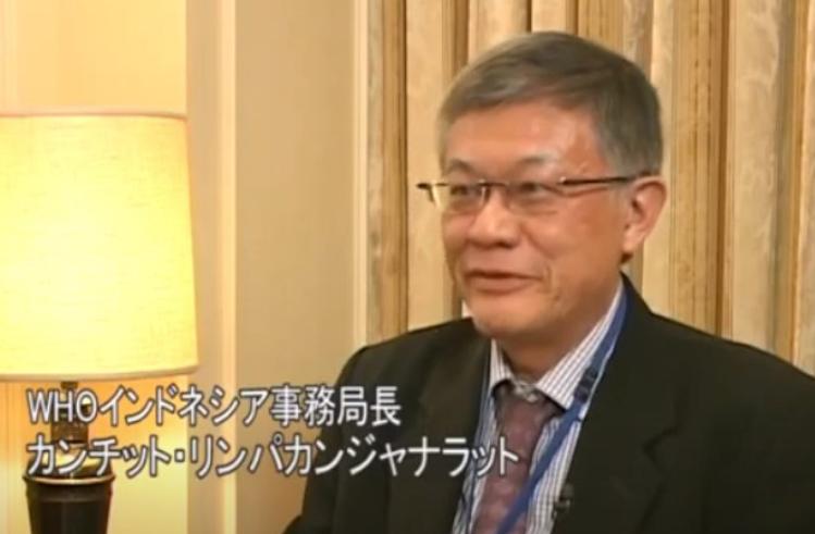 カンチット・リンパカンジャナラット博士(WHOインドネシア事務局長)インタビュー(2010.3.23)