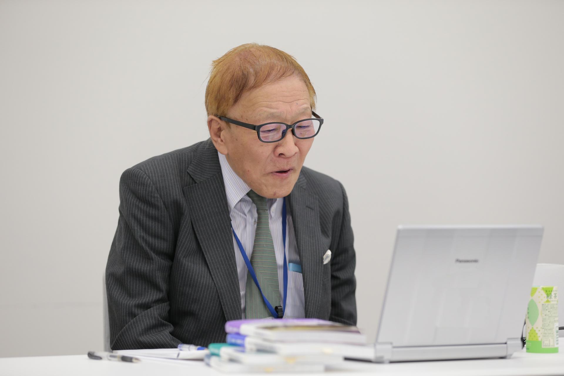 (代)秋道智彌 総合地球環境学研究所名誉教授