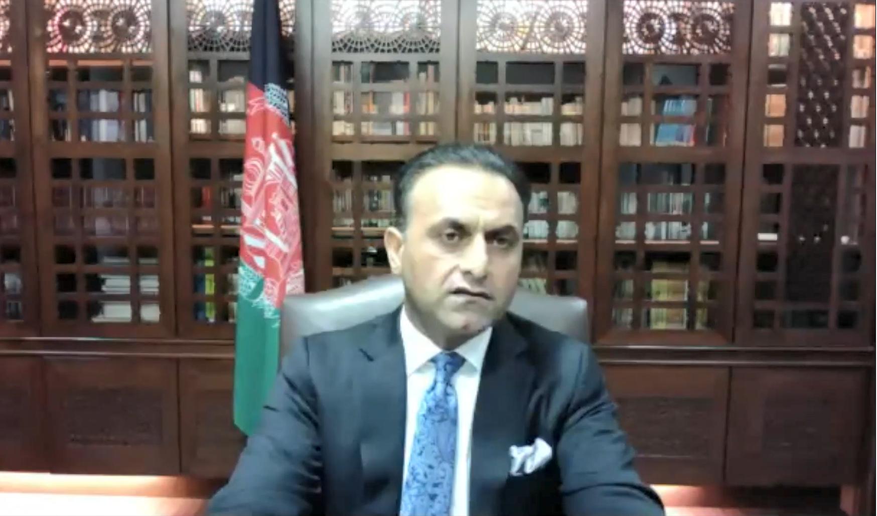 駐日アフガニスタン大使のシャイド・モハマド・アブダリ氏
