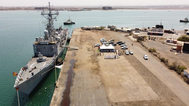 ジブチ港への日EU共同寄港は、インド太平洋地域のパートナーとの協力に向けたEUの広範な取り組みの一環です