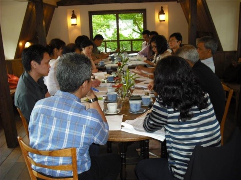 2011年7月に開かれた京都リトリート会議