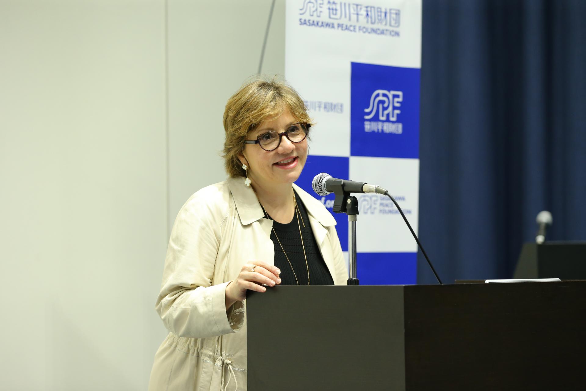 OECD常任理事 ジョゼ・トゥシェット氏講演会 「国際機関における女性のエンパワメント」
