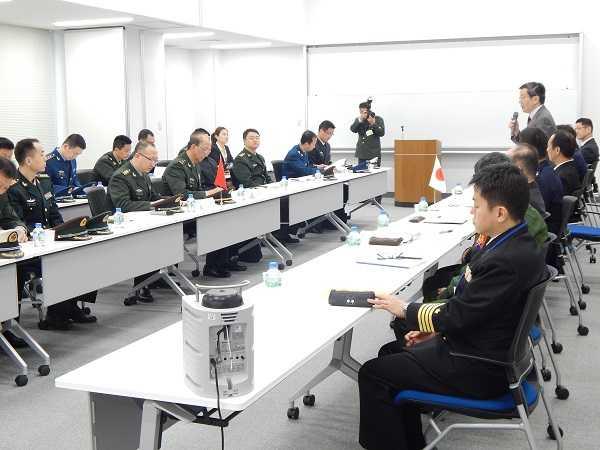 防衛研究所では朝鮮半島情勢などについて意見が交わされた