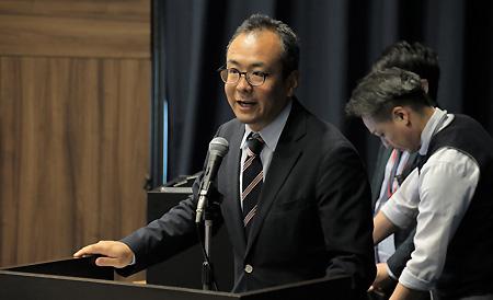 (写真)西田一平太主任研究員