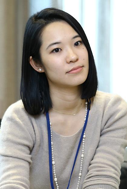 (写真)林茉里子