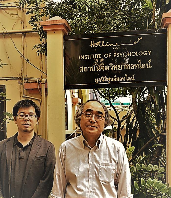 (キャプション)一緒にタイで調査を行った京都産業大学の伊藤教授と