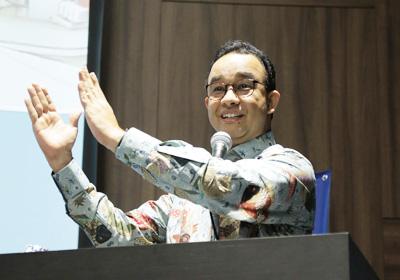 首都ジャカルタの現状と課題を語るバスウェダン氏