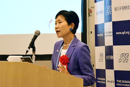 地球環境ファシリティ(GEF)の石井菜穂子統括管理責任者(CEO)兼任議長