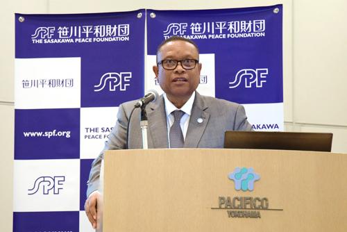 ナミビアのエサウ大臣