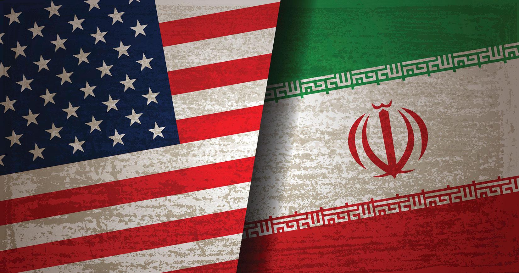 イメージ写真:アメリカとイランの応酬