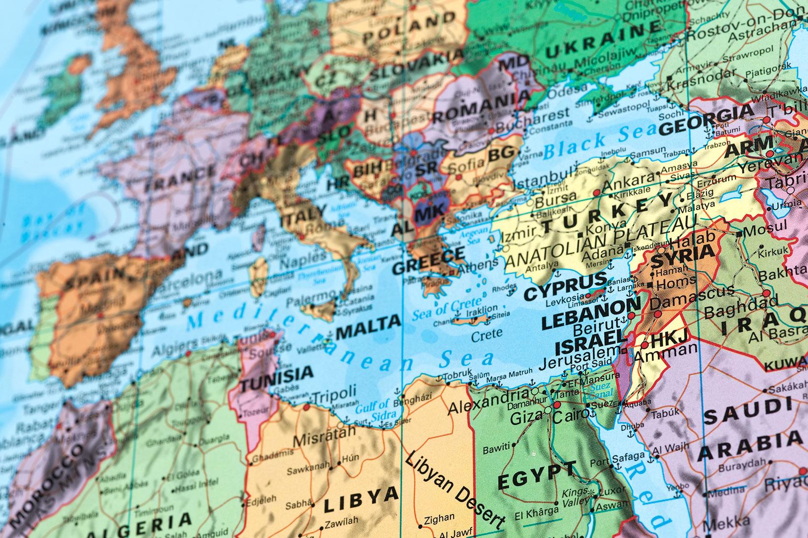 東地中海のエネルギー開発と地政学的競争(1)<br>エジプトとイスラエルの接近、トルコと周辺国の対立