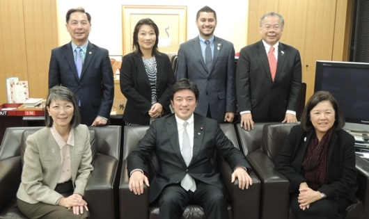 Asian American Leadership Delegation with MinisterNakayama_m.jpg
