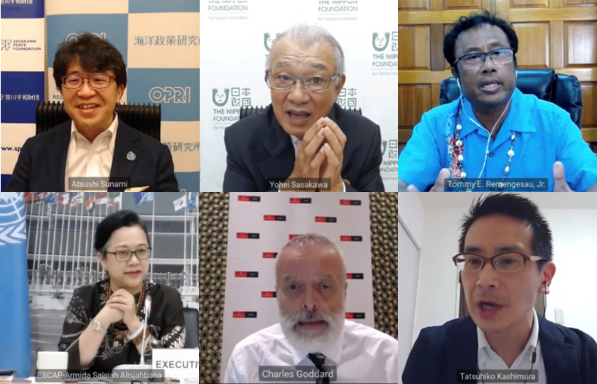 A webinar was held to discuss possibilities for a robust 'blue' recovery in Asia and the Pacific