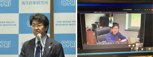 """Discussing Collaboration on Maritime Challenges in East Asia -- OPRI-SPF co-hosts """"2020 Sino-Japanese Maritime Dialogue"""" as virtual event"""