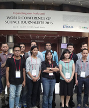 Support for Science Journalists in Asia