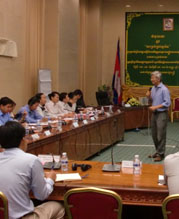 Capacity Building for Cambodian Public Officials