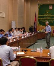カンボジアにおける公務員の能力向上