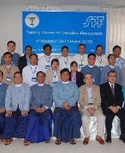 ミャンマー組織マネジメント向上